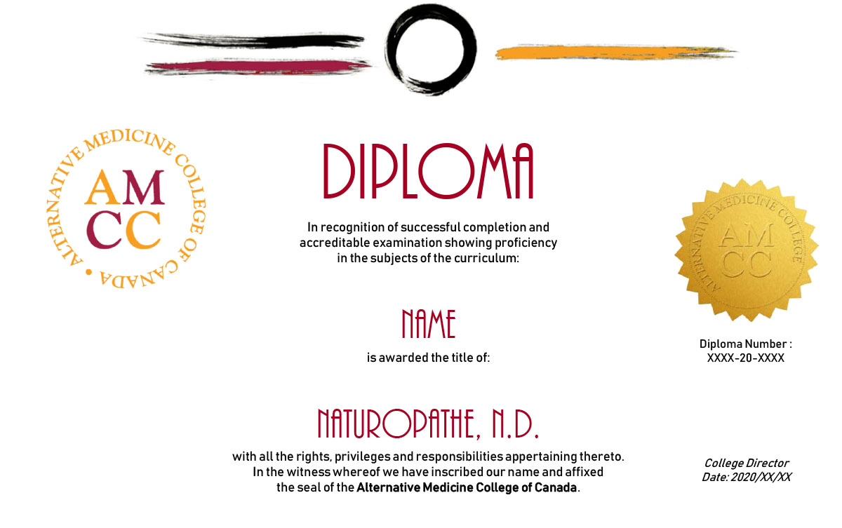 Alternative Medicine College of Canada Diploma
